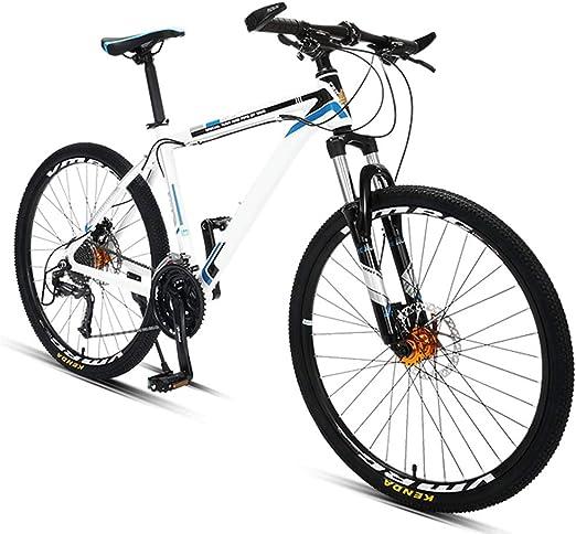 Hisunny - Bicicleta de carreras, 27 marchas, 26 pulgadas, cuadro ...