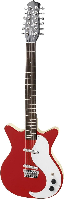 Danelectro 12SDC 12-String Electric Guitar Red