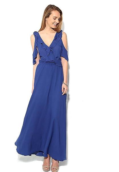 Vestidos de mujer azul rey