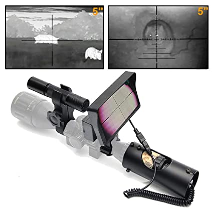 c96e09c4a30 Amazon.com   bestsight DIY Digital Night Vision Scope for riflescopes with  Camera and 5