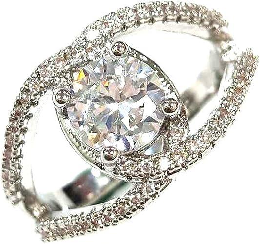 Entwurfs weißer Diamant Schmuck Jahrestags Geschenk