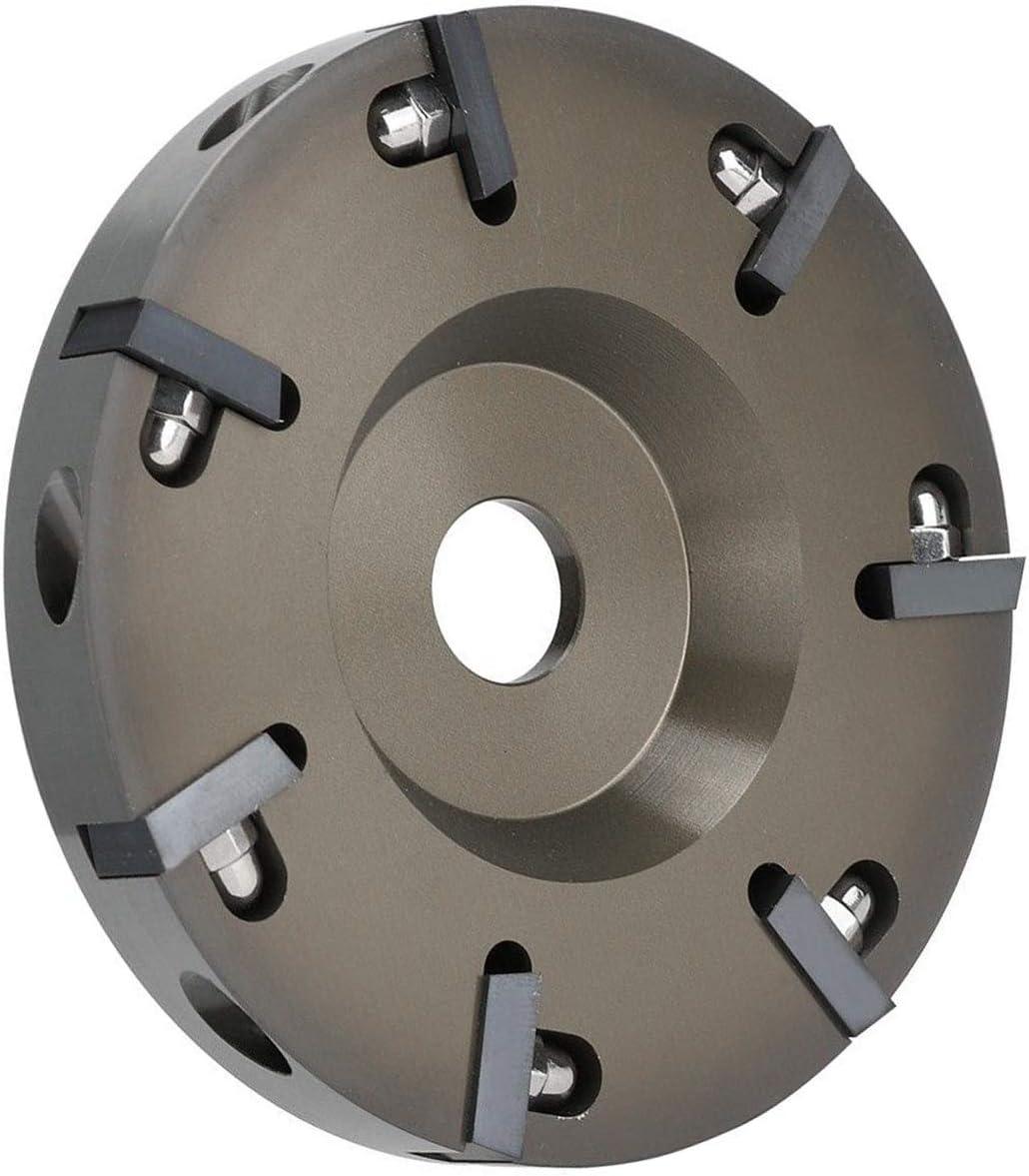 KKmoon Cuchillo de Pezuña Eléctrica,Herramientas de Herrador de Aleación de Aluminio para Ganado Ovejas Caballos,Pezuña de Placa,Ddisco de Recorte con 7 Cuchillas
