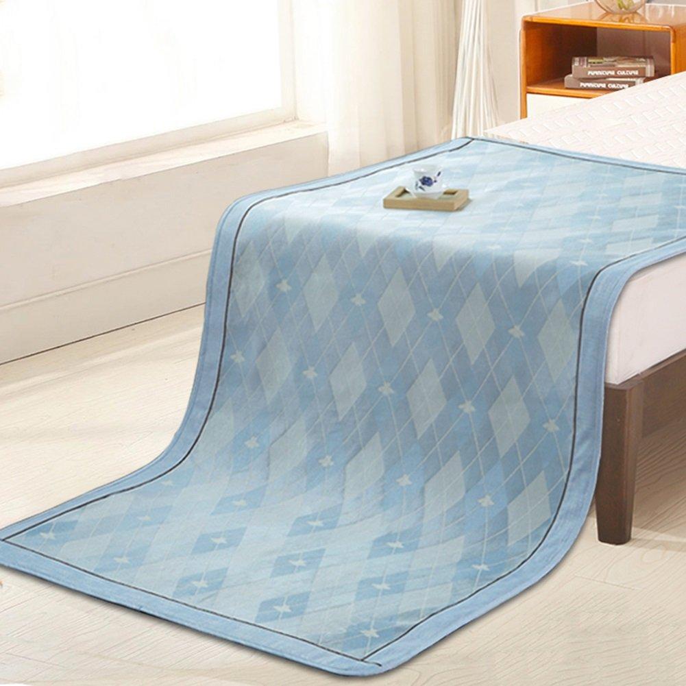 WENZHE Matratzen Sommerschlafmatte Bettmatte Für Den Sommer Matratze EIS Seide Kühlung Atmungsaktiv Zusammenklappbar Bettwäsche nwohnheim, 7 Größen
