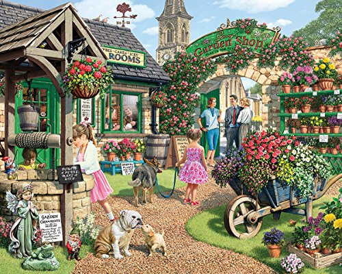 White Mountain Puzzles Garden Shop product image