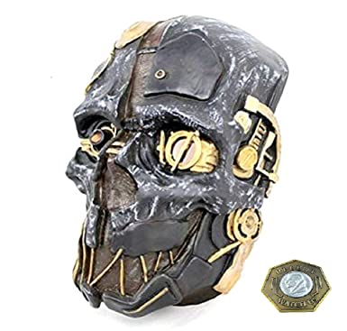 Amazon.com: Dishonored Mask Corvo Attano Rat Urethane Costume Cosplay  Halloween + Game Coin: Clothing