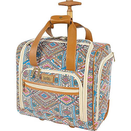 nicole-miller-ny-luggage-sedona-wheeled-under-seat-bag-blue