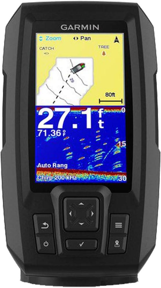 Garmin 010-N1870-00 Striker 4 Plus with Dual-Beam Transducer Fishfinder with GPS Renewed