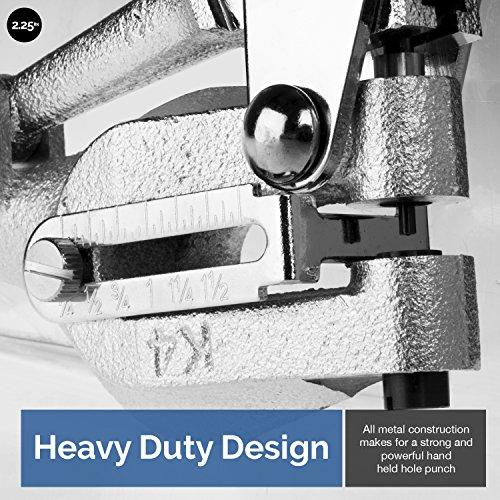 Neiko 02612A Multi-Purpose Power Hole Punch Kit