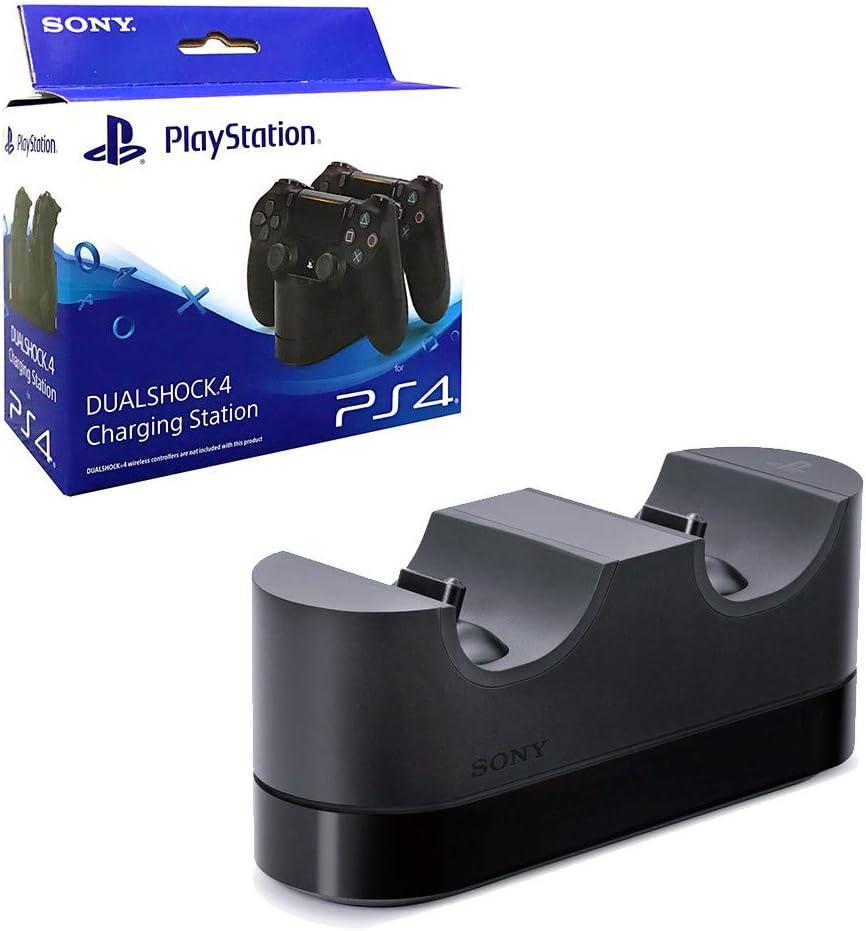 steelplay Dual Charging Station para PS4: Amazon.es: Informática