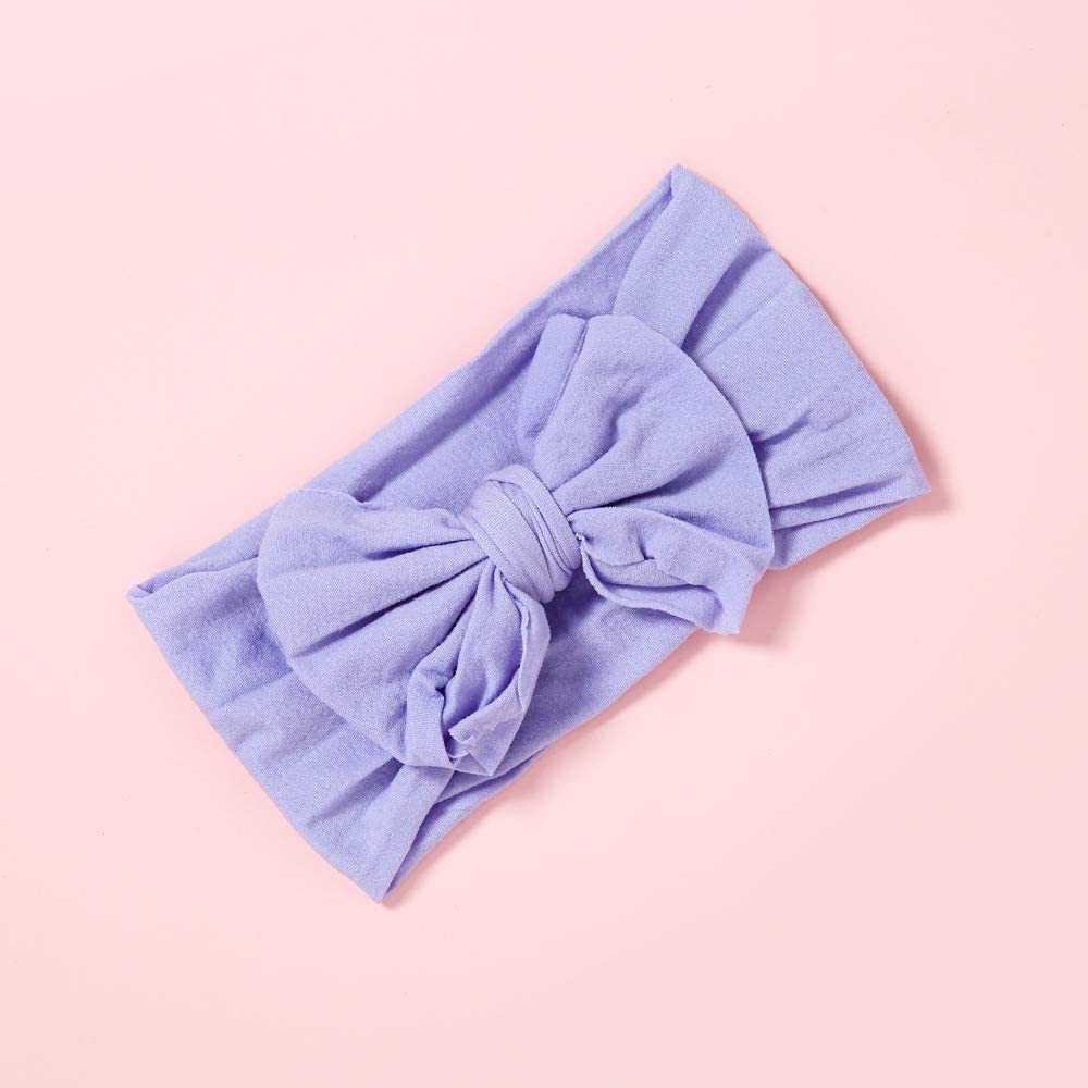27-All 27 Colours Baby Girls Cute Bow Headbands Hair Hoop Newborn,Toddler and Kids Elastic Hair band for Photograph Gift Present