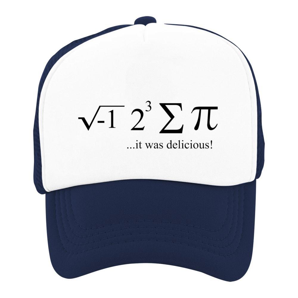 Kids Classic Pi Day Formula Mesh Snapback Hats Adjustable Baseball Cap