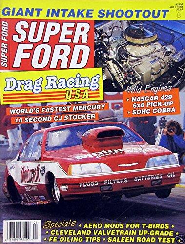 Amazon com: Drag Racing USA - World's Fastest Mercury - July, 1988