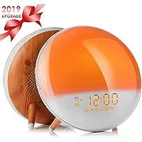 Fitfirst Despertador Luz Wake Up Light con Alarmas