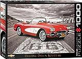 1000 piece puzzles corvette - EuroGraphics 1959 Corvette 1000 Piece Puzzle