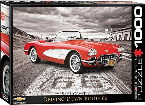 1000 piece puzzles corvette - 6