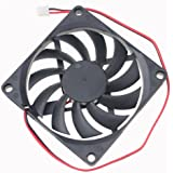Gdstime 2200RPM 80mm x 80mm x 10mm DC 5V 0.25A Brushless Cooling Fan