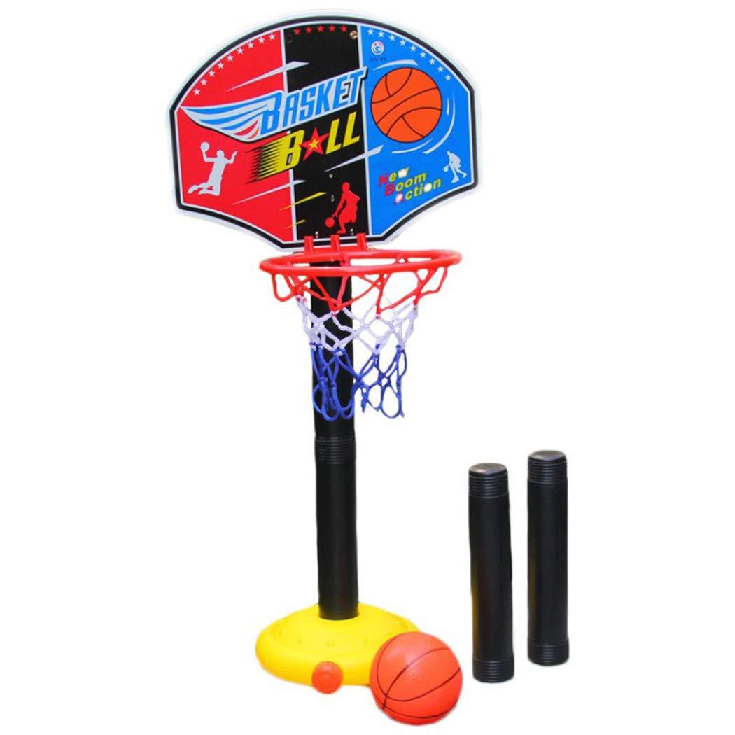 Kizaen 調節可能 バスケットボール バックボード スタンド&フープ ポータブルバスケットボールセット 子供用 3歳以上 B07HMS4R79
