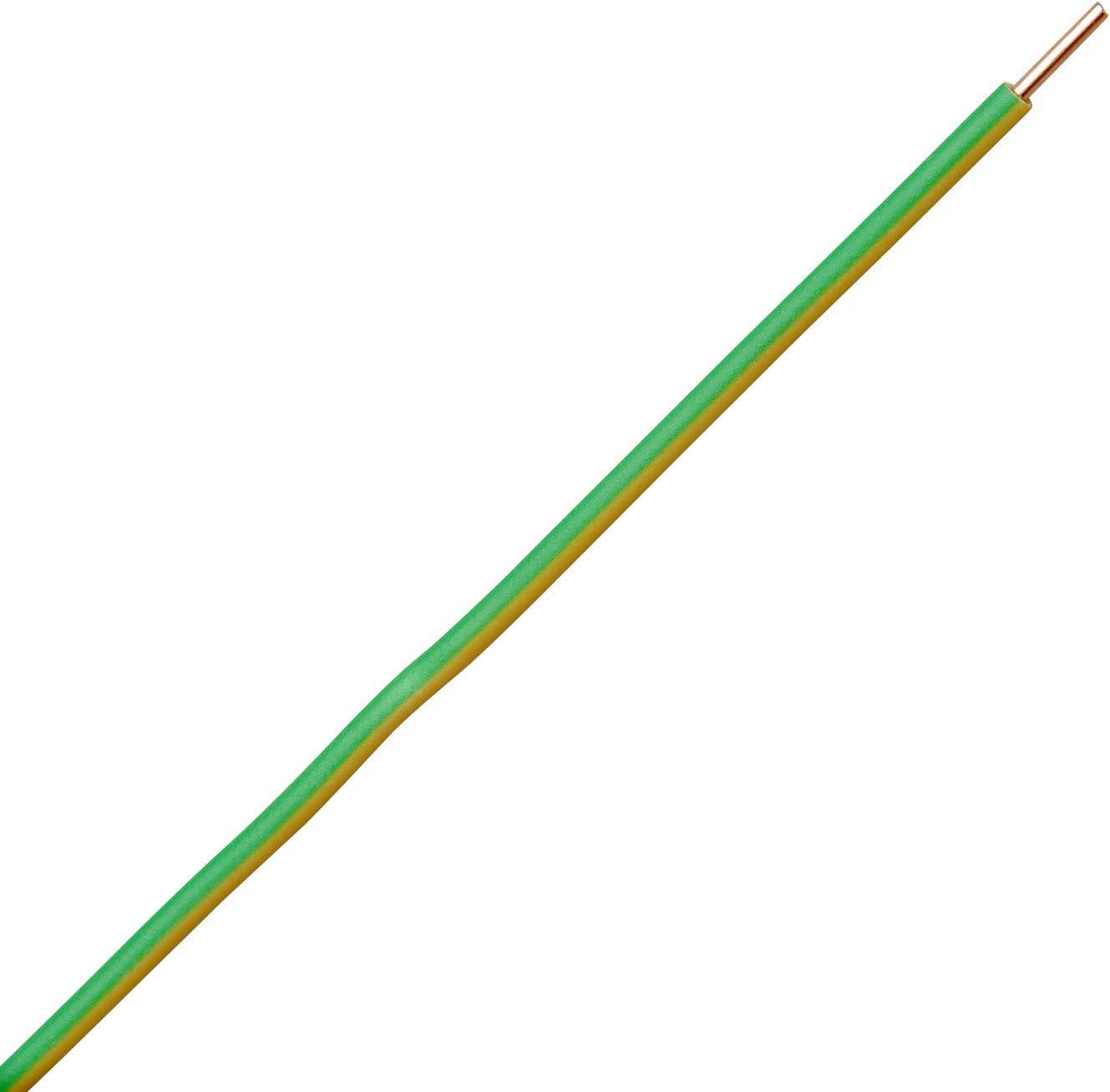 Kopp 155405842 Aderleitung H07 VU 1 x 6 mm/² gr/ün//gelb 5 m