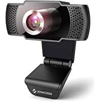 Camara web 1080P HD con micrófono, cámara web de computadora USB para computadora portátil, reducción de ruido, visión…