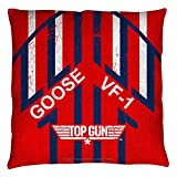 Top Gun - Goose Throw Pillow 14 x 14in