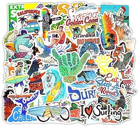 50Pcs Friends Stickers Maletas para Port/átiles Equipaje Skateboard Tabla De Surf Decoraci/ón Pegatinas De Bicicleta