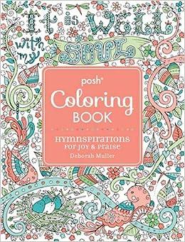 Amazon.com: Posh Adult Coloring Book: Hymnspirations for Joy ...
