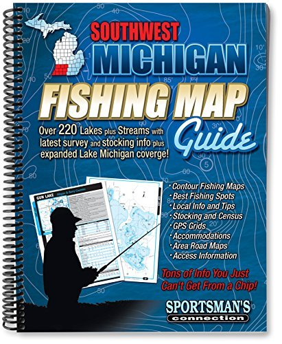 Southwest Michigan Fishing Map Guide (Sportsman's Connection) by Sportsman's Connection (2013-05-02)