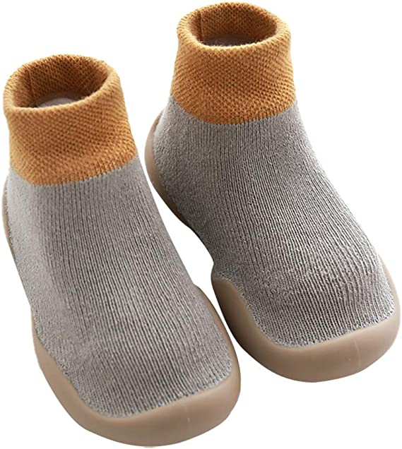 Baby Shoes, Solid, Socks, Non-Slip
