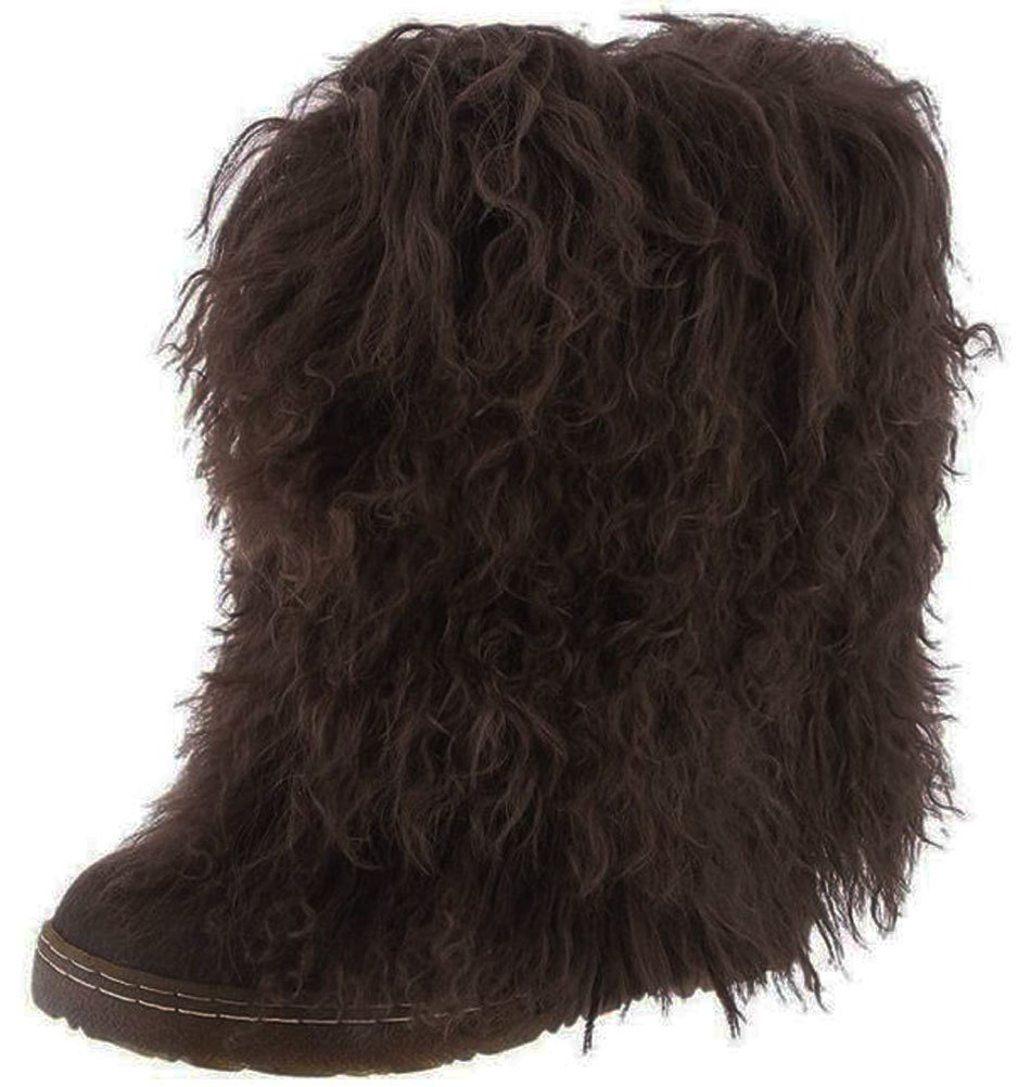 BEARPAW Women's Boetis II Mid-Calf Boot B00O2A4N3E 12 B(M) US|Chocolate