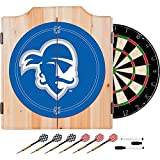 Seton Hall University Deluxe Solid Wood Cabinet Complete Dart Set - Officially Licensed!
