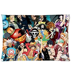 One Piece Fairy Tail Pillowcases 20x30 Inch