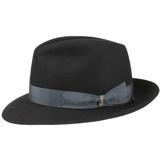 Borsalino 50 Grammi Cappello da Uomo Cappelli di Feltro Pelo Capello   Amazon.it  Abbigliamento 4c55b811a19
