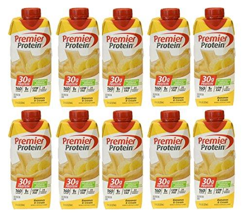 Premier Protein - 10 Pack (Bananas and Cream),11 fl.oz each