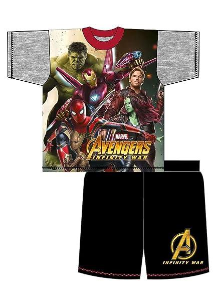 The Avenger Pijama dos piezas - para niño Negro Avengers Infinity War - Grey/Black