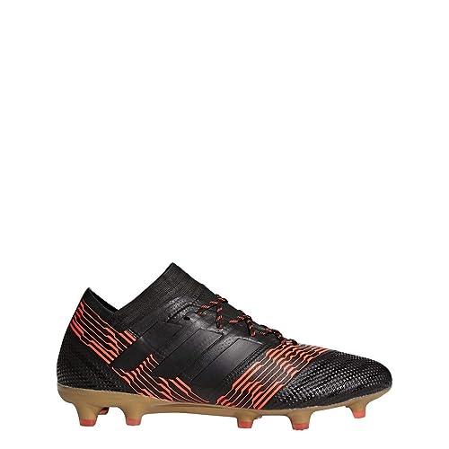lowest price b6acb 05793 adidas Nemeziz 17.1 FG Cleat - Men s Soccer 6.5 Core Black Solar Red