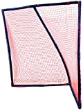 Park & Sun Sports Poly Frame Lacrosse Goal with Nylon Bungee Slip Net, 6' W x 6' H x 4' D