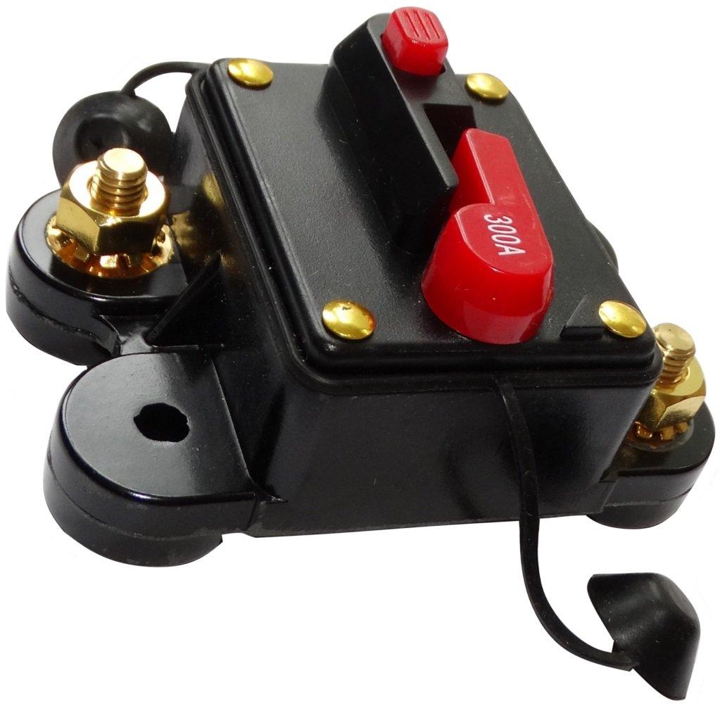 AERZETIX: 300A 12V 24V 32V 48V fusible automá tico de coche 78x52x37mm IP67 amplificador de coche vehí culo C14617 SK2-C14617-AF96