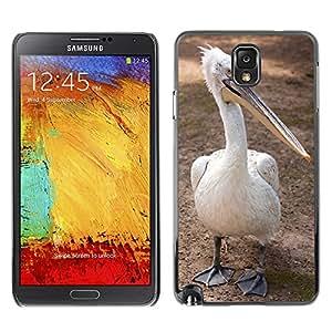 Etui Housse Coque de Protection Cover Rigide pour // M00112415 Criatura Pico, Pájaro, Animal pluma // Samsung Galaxy Note 3 III N9000 N9002 N9005