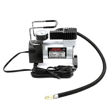 SHENGY Mini inflador de Aire eléctrico para inflado de neumáticos, con indicador Digital Desmontable,