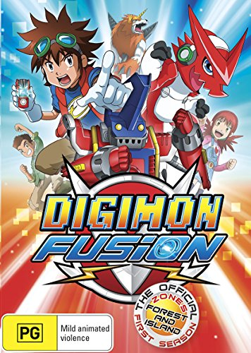 Digimon Fusion - Forest and Island Zone - Season 1 DVD