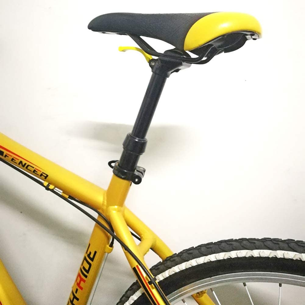 Tija De Sillín Bicicleta MTB Cuentagotas De Altura Ajustable 30.9/31.6 * 375mm Poste De Asiento De Control Remoto Manual Tubo De Asiento De Bicicleta De Viaje De 100 Mm,30.9mm: Amazon.es: Deportes y