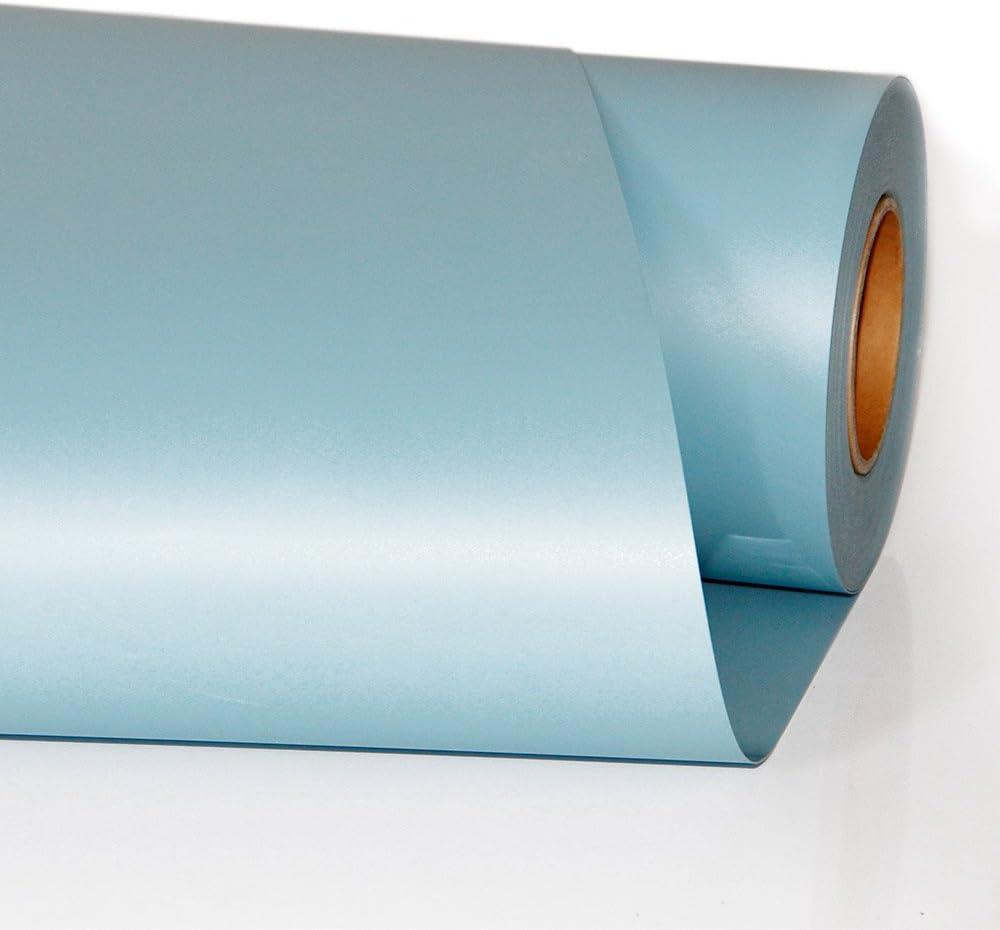 Vinilo de transferencia de calor, de HOHO; plotter de corte, para planchar en la ropa, y que tú mismo crees camisetas (50 x 100 cm) 50cmx100cm azul celeste: Amazon.es: Hogar