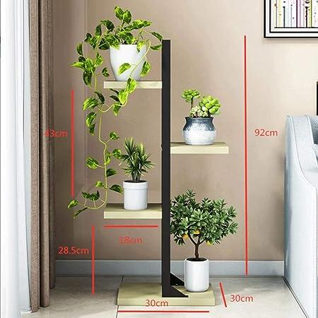 Estantes for plantas Soporte de flores multifuncional de 4 niveles Estantería en forma de escalera Estantería Estante for exhibición de zapatos Estante for macetas en maceta Organizador Soporte for es: Amazon.es: Hogar