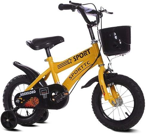Bicicleta de Ni/ño con Pedal Bicicleta Infantil con Rueda Auxiliar BTdahong 16 Pulgadas Bicicleta para Ni/ños