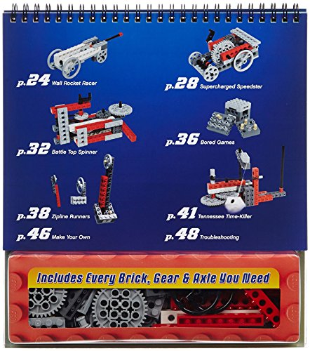 LEGO Crazy Action Contraptions Klutz 16 Project Books and Parts