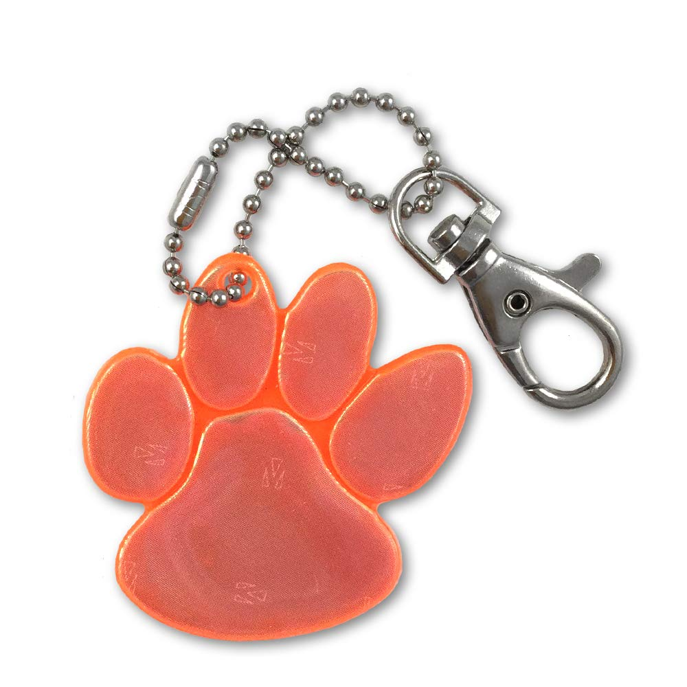 d6bac27719 funflector Safety Reflector - Paw Prints - Ultra Reflective Gear Clothing,  Bags, Backpacks, Strollers, Wheelchairs Dog Leashes.