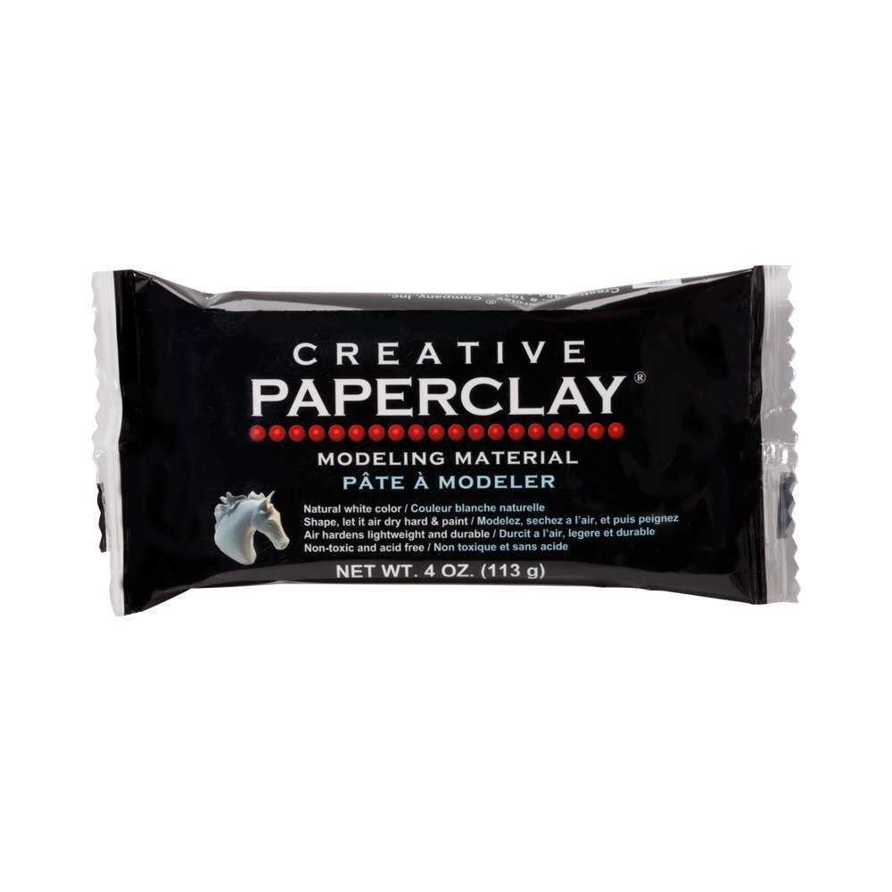 Creative Paperclay White -Creative Paperclay 4, Acrylic, Multicolour 113 g 813