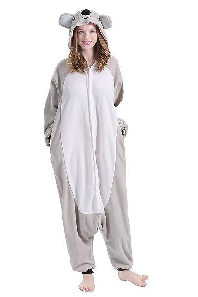 brlmall Unisex adulto pijama – peluche One Piece Cosplay disfraz de Koala Animal