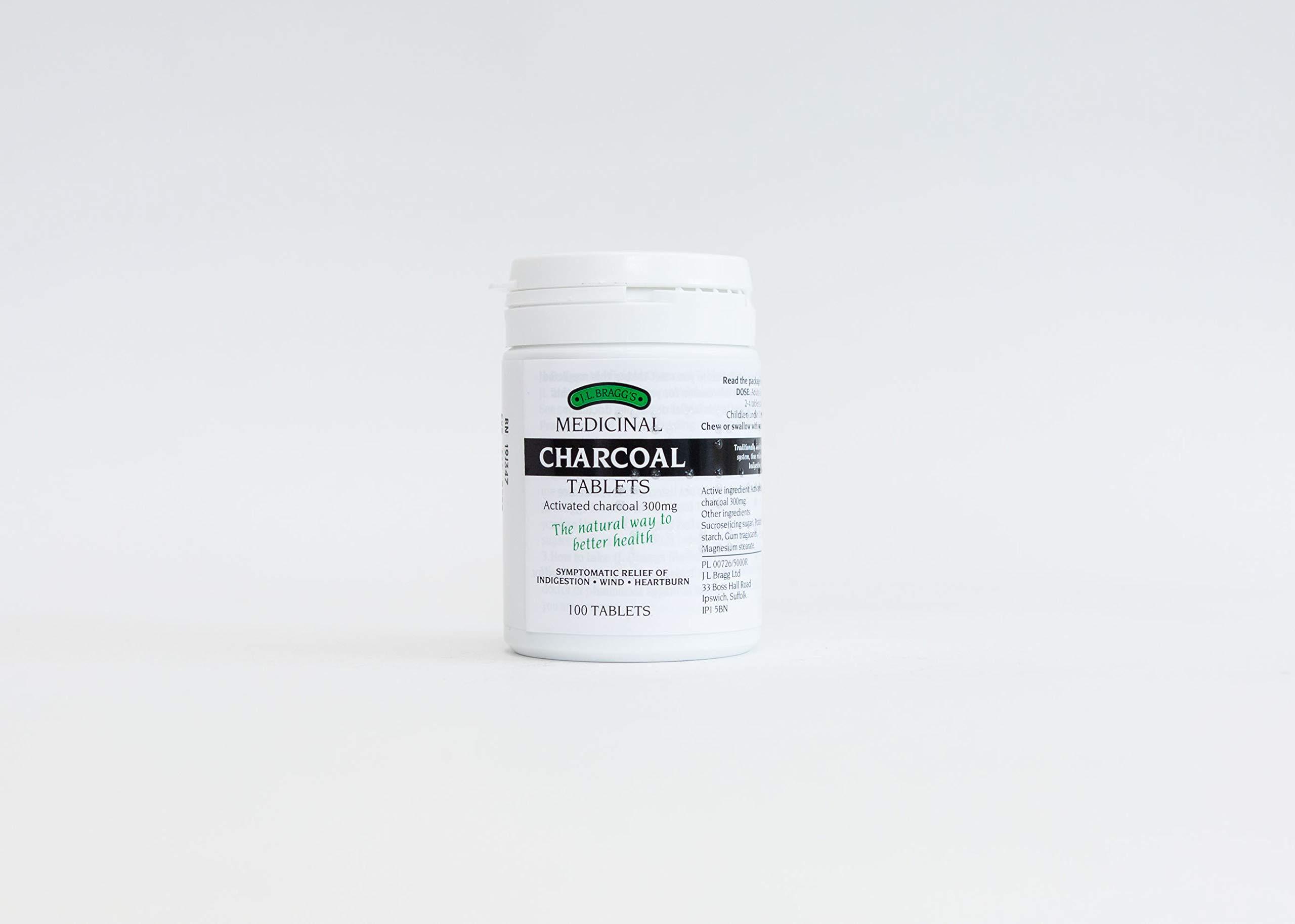 Charcoal 300mg - 100 Tablets
