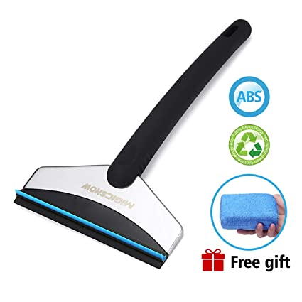 Snow Ice Scraper Removal Clean Tool Auto Car Vehicle Glass Snow Shovel Water Scraping Car Windshield Anti Slip Ice Remove Tools Garden Tools